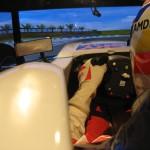 Marc Gene pilota Ferrari in pista (Copia)